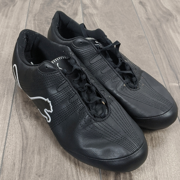 Puma Black Sneakers Sz 8